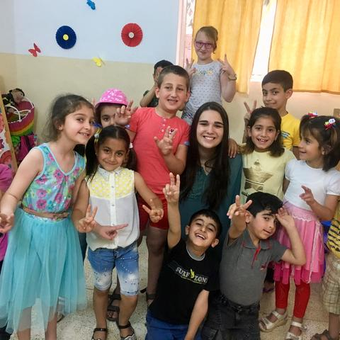 Josie Dupler traveled to Iraq and Turkey to teach and tutor immigrant children