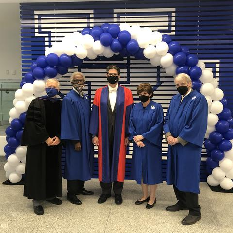photo of 2021 College of Arts and Sciences Hall of Fame inductees