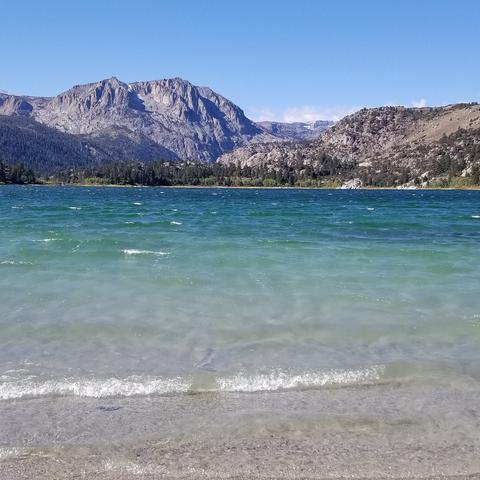photo of June Lake beach