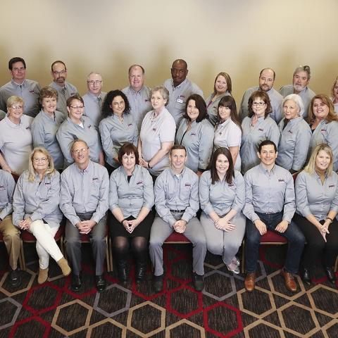 photo of KSBDC staff awards