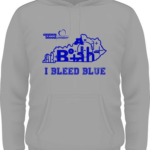 picture of I Bleed Blue sweatshirt