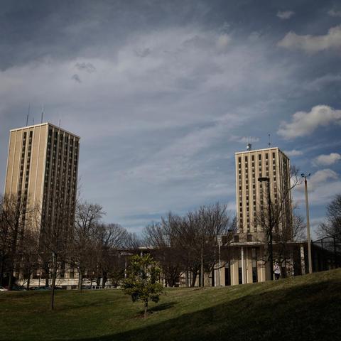 photo of Kirwan-Blanding Towers