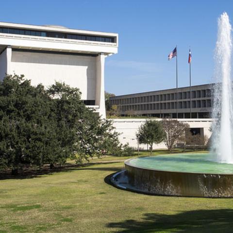 LBJ Presidential Library Photo: Jay Godwin