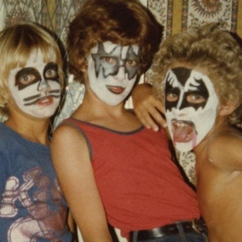 "photo of ""Kiss Kids"" courtesy of Jon Hamilton"