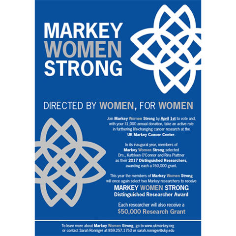 Markey Women Strong