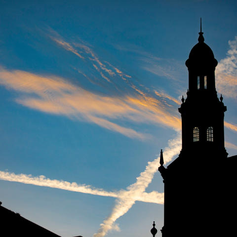 photo of Memorial Hall spire