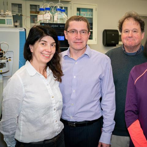 Photo of Natalia Korotkova and colleagues at the University of Kentucky