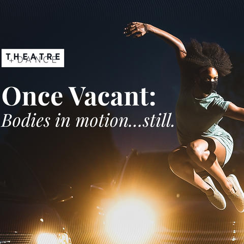 """photo of TV slide for """"Once Vacant: Bodies in motion ... still"""""""