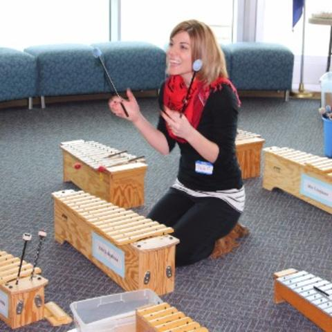 photo of music education training program