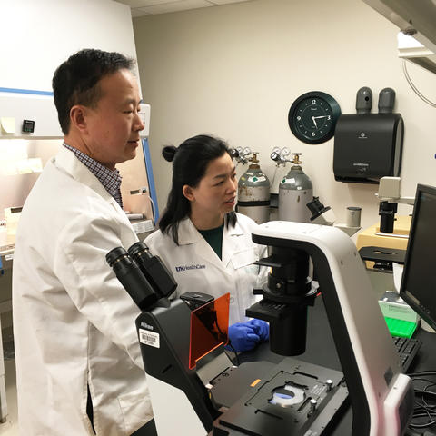 A new study by UK researchers Ren Xu and Gaofeng Xiong shows promise for targeting breast cancer metastasis.
