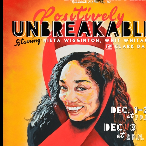 """poster for """"Positively Unbreakable"""""""