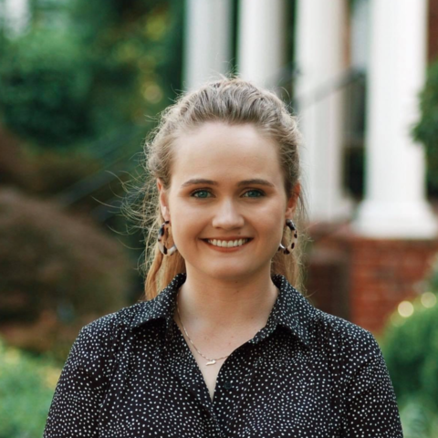 Headshot of Rachel White.