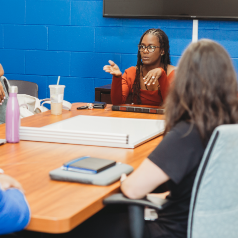 Candice Hargons, an assistant professor in the Department of Educational, School, and Counseling Psychology, says Black students need to be heard and responded to with empathy as they process the pain of racial injustice.