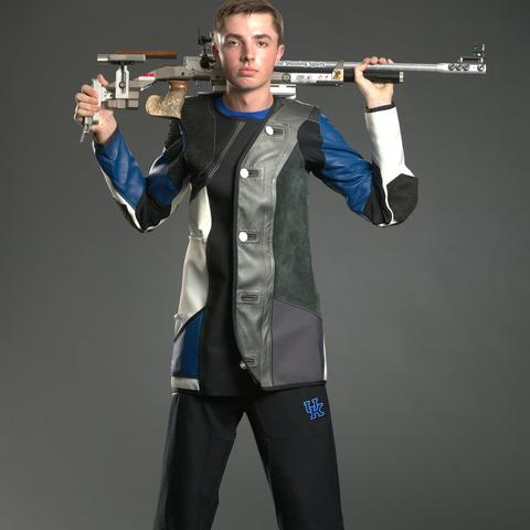 photo of Will Shaner with rifle