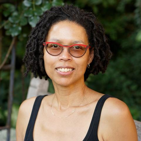 headshot photo of Evie Shockley by Nancy Crampton