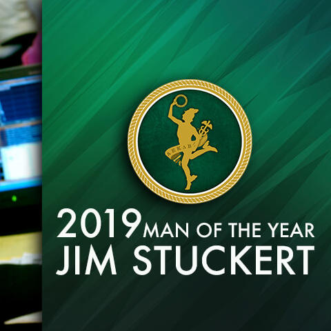 image of James Stuckert and graphic that says 2029 Man of the Year Jim Stuckert