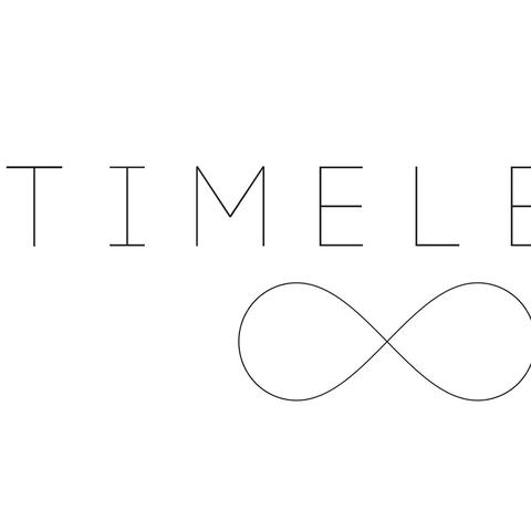 "logo for ""Timeless"""