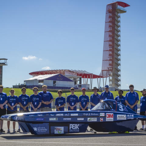 Photo of UK Solar Car Team