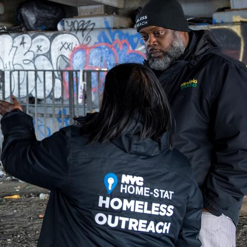 Engineering Students Working with Homeless Outreach in NYC