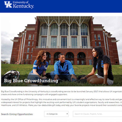 photo of crowdfunding website