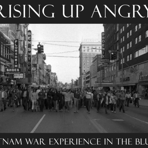 """photo of artwork for """"Rising Up Angry"""" exhibit"""