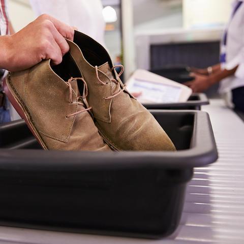 Airport TSA.