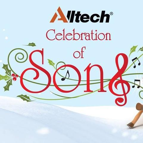 "photo of ""Celebration of Song"" concert banner"
