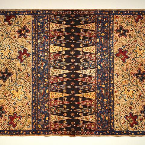 An example of batik art