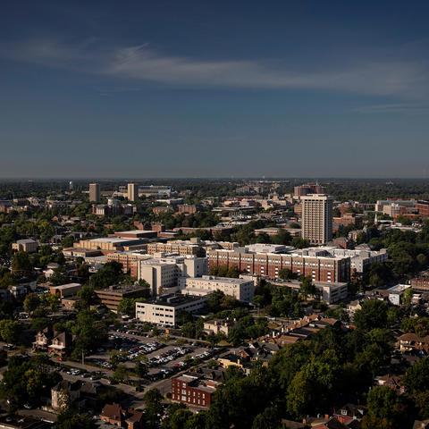 campus wide shot