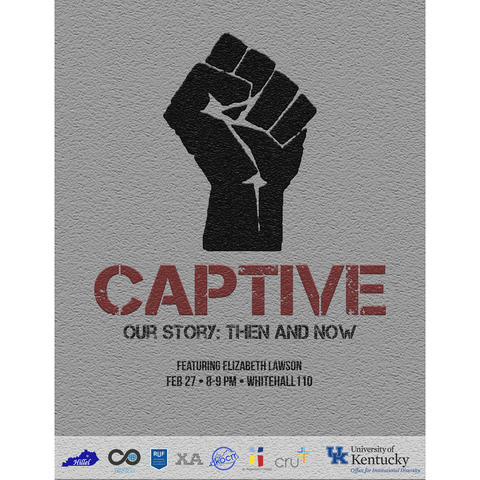 "photo of ""Captive"" poster"