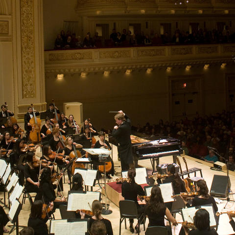 photo of UK Symphony Orchestra at Carnegie Hall