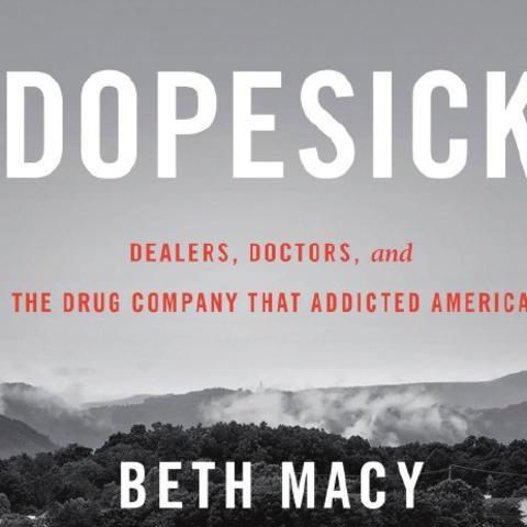 """""""Dopesick"""" book cover"""