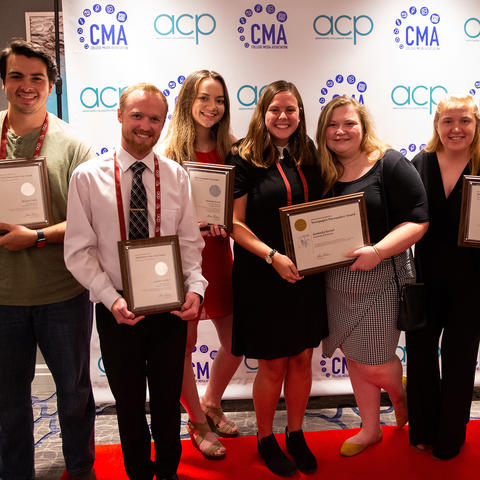 The Kentucky Kernel staff was awarded the 2019 Pacemaker Award at the National College Media Convention for having one of the best student newspapers.