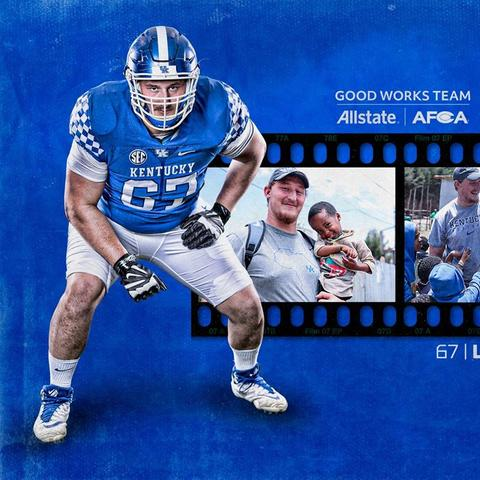 Landon Young has been named to the  2019 AFCA award.