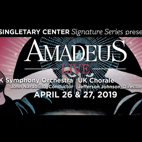 photo of web art for Amadeus Live