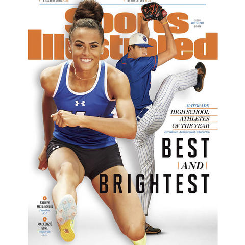 Sydney McLaughlin Sports Illustrated cover