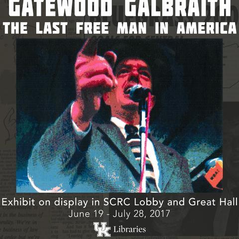 photo of Gatewood Galbraith exhibit sign