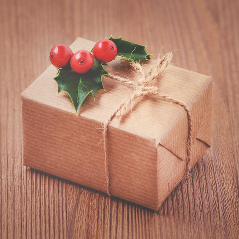 Consider using brown craft paper or newspaper comic strips, which can be recycled, when wrapping presents.