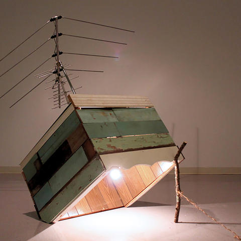"""photo of """"Terrestrial Apparatus Poised for Lights Out"""" by Casey McGuire"""