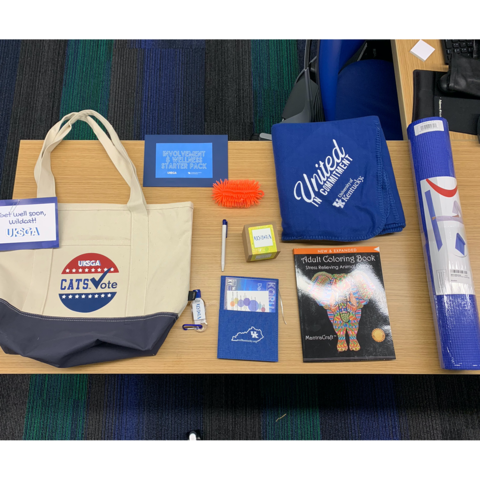 Contents of SGA wellness kit