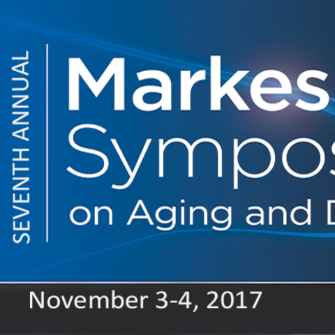 Photo of Markesbery Symposium logo