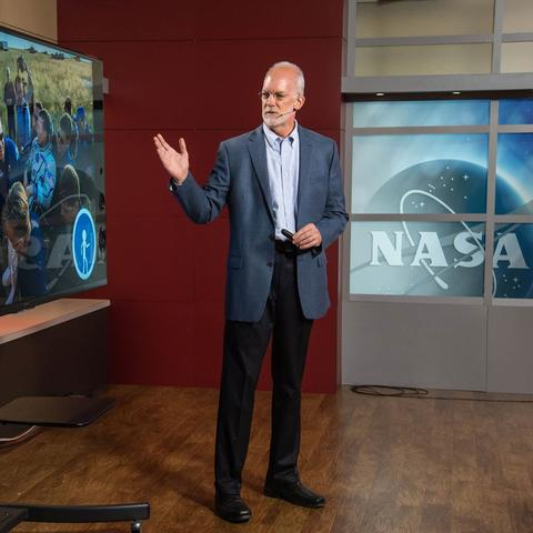 Dr. John Charles presents the research of the Human Research Program at NASA
