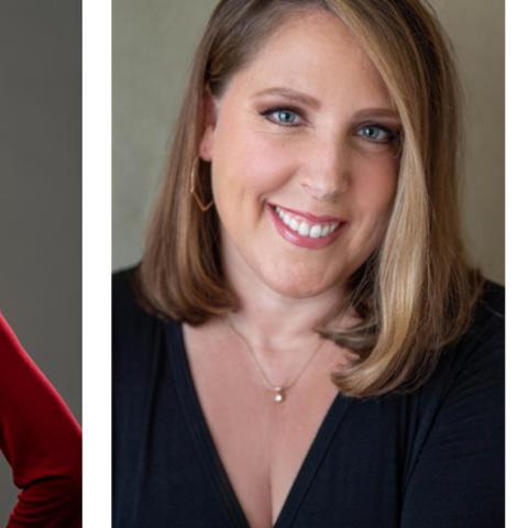 headshot images of Meghan Marsac and Melissa Hogan