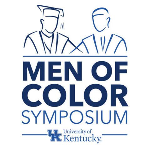 Men of Color Symposium graphic.