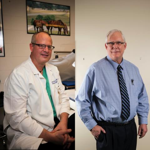 Dr. Pete Nelson (L) Dr. Greg Jicha (R)   UKphoto