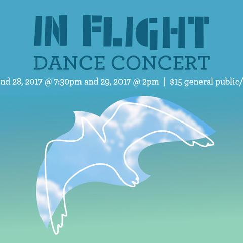 """artwork for UK Theatre & Dance's """"In Flight"""""""