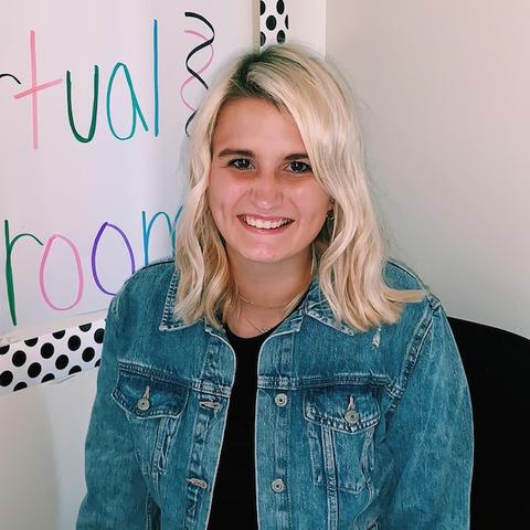Maddy Caudill, a senior elementary education major at UK.