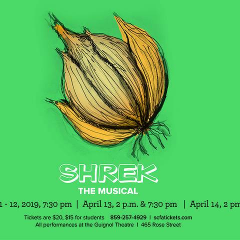 """photo of UK Theatre's web banner for """"Shrek"""""""