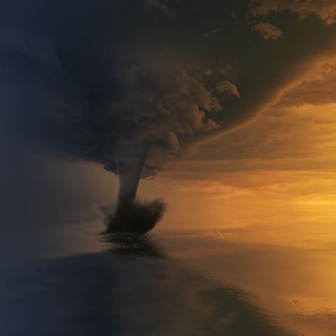 photo of tornado