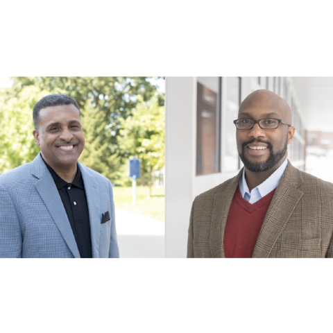 professors Gerald L. Smith (left) and Derrick E. White (right)
